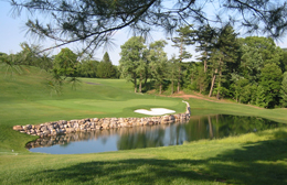 The Country Club of Harrisburg, Hole no. 15